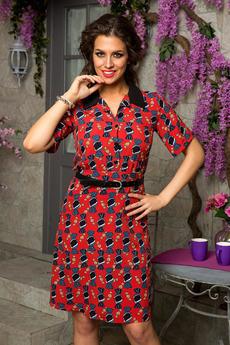 Летнее платье в стиле ретро Angela Ricci