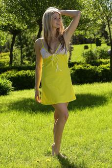 Сорочка с кружевными чашечками FIORITA