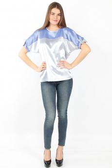 Серебристая блузка Bast