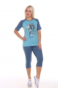 Домашний костюм: бриджи и футболка Вилана со скидкой